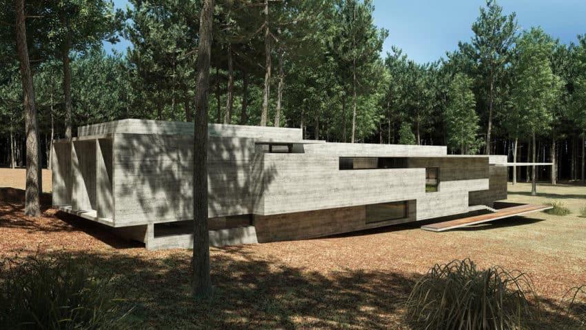 Casa Bosque by Besonias Almeida Arquitectos (4)