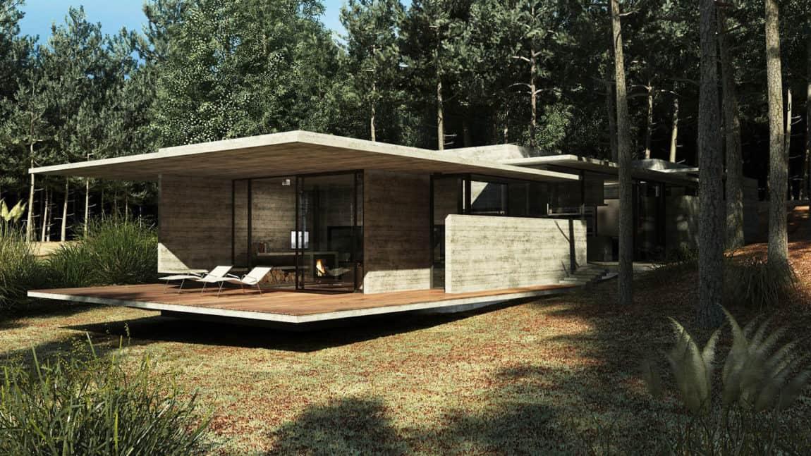 Casa Bosque by Besonias Almeida Arquitectos (5)