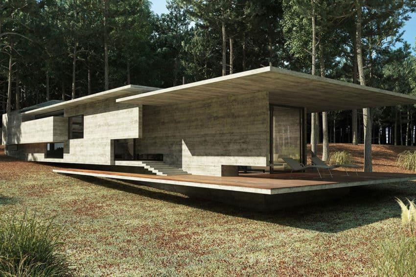 Casa Bosque by Besonias Almeida Arquitectos (6)