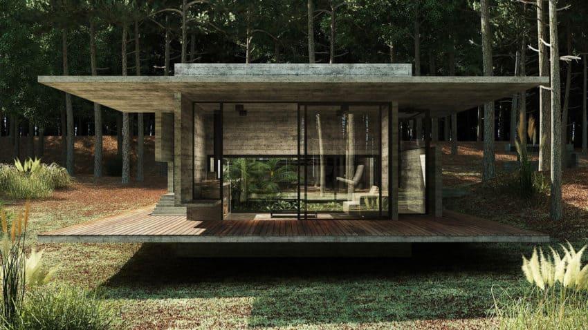 Casa Bosque by Besonias Almeida Arquitectos (7)