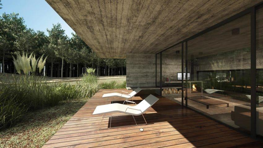 Casa Bosque by Besonias Almeida Arquitectos (8)