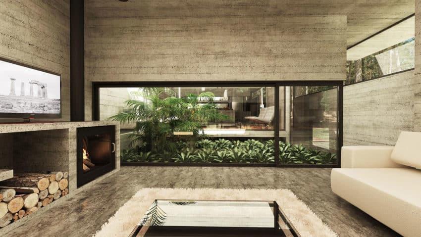 Casa Bosque by Besonias Almeida Arquitectos (9)