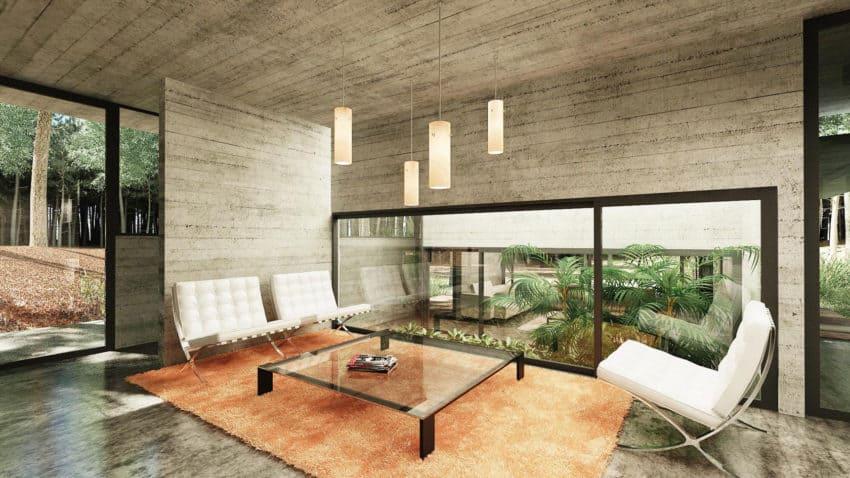 Casa Bosque by Besonias Almeida Arquitectos (10)