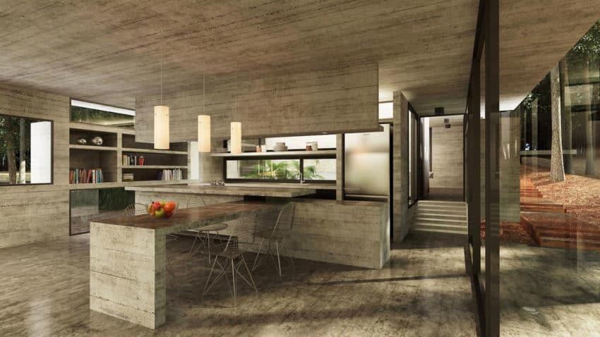 Casa Bosque by Besonias Almeida Arquitectos (11)