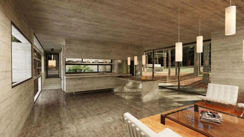 Casa Bosque by Besonias Almeida Arquitectos (12)
