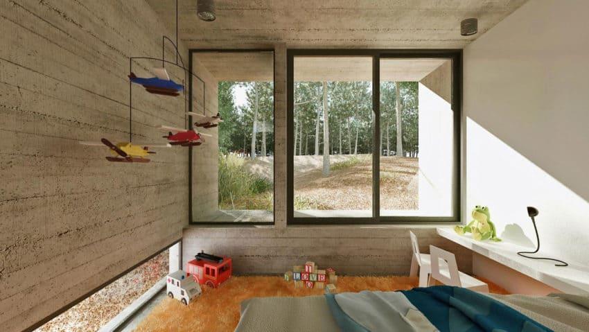 Casa Bosque by Besonias Almeida Arquitectos (14)