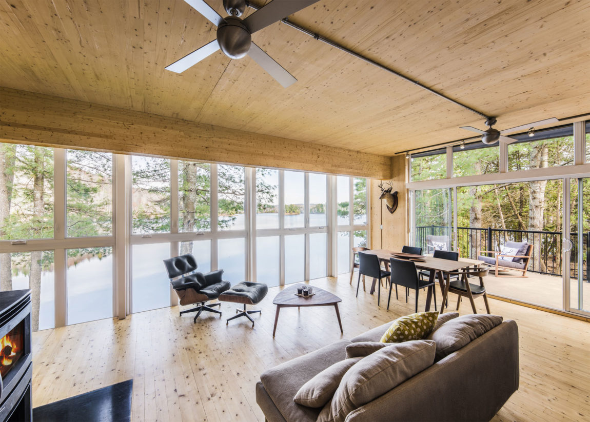 Cross-Laminated-Timber Cottage by Kariouk Associates (4)