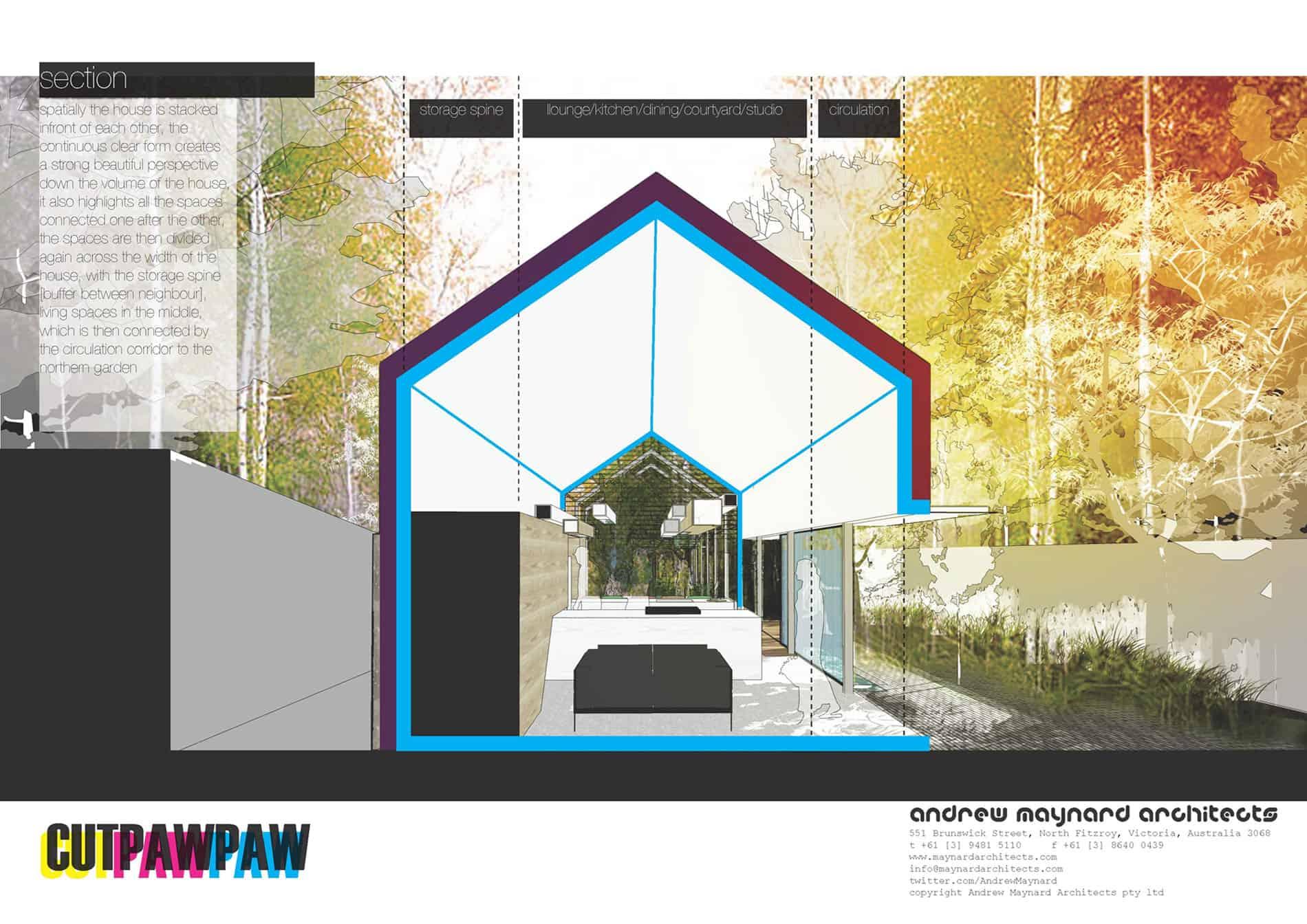 Cut Paw Paw by Andrew Maynard Architects