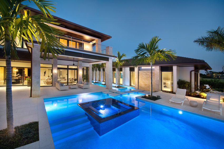 Exclusive Private Residence in Florida by Harwick Homes (3)