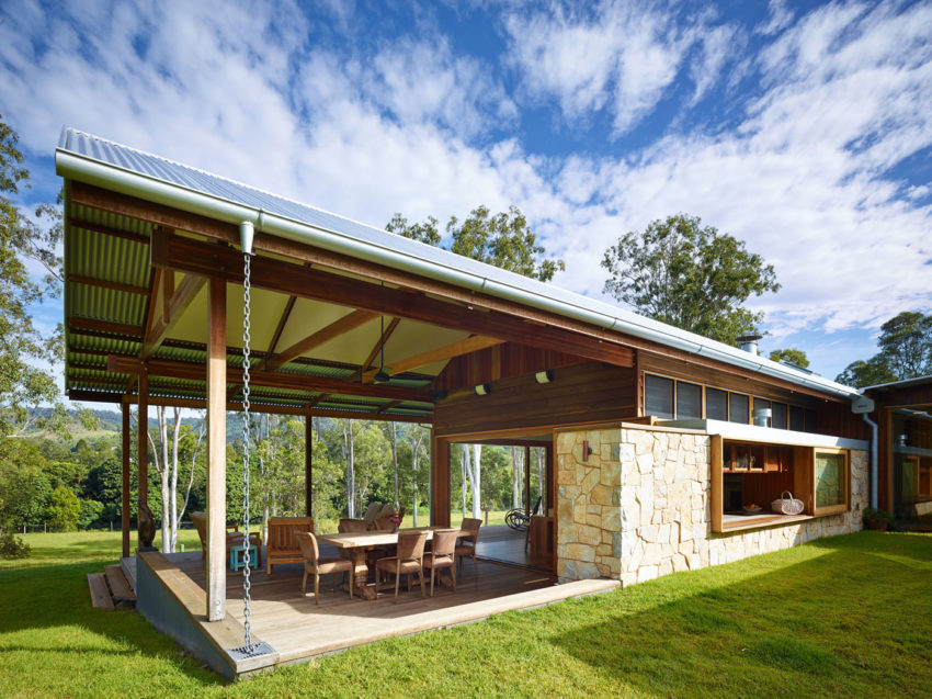 Hinterland House by Shaun Lockyer Architects (8)