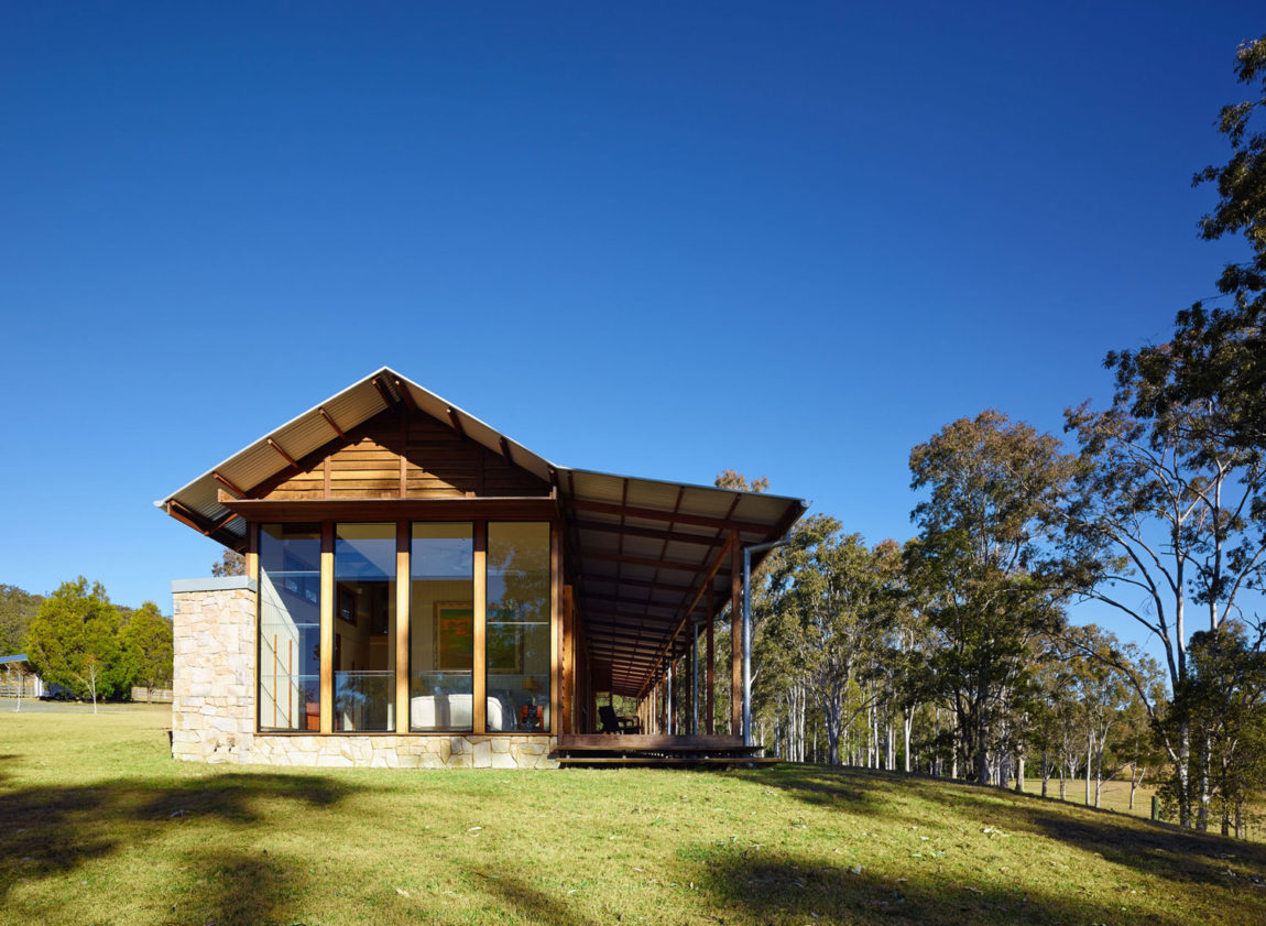 Hinterland House by Shaun Lockyer Architects (17)