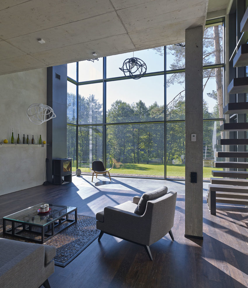 House Villa Near Vilnius by GYZA (7)
