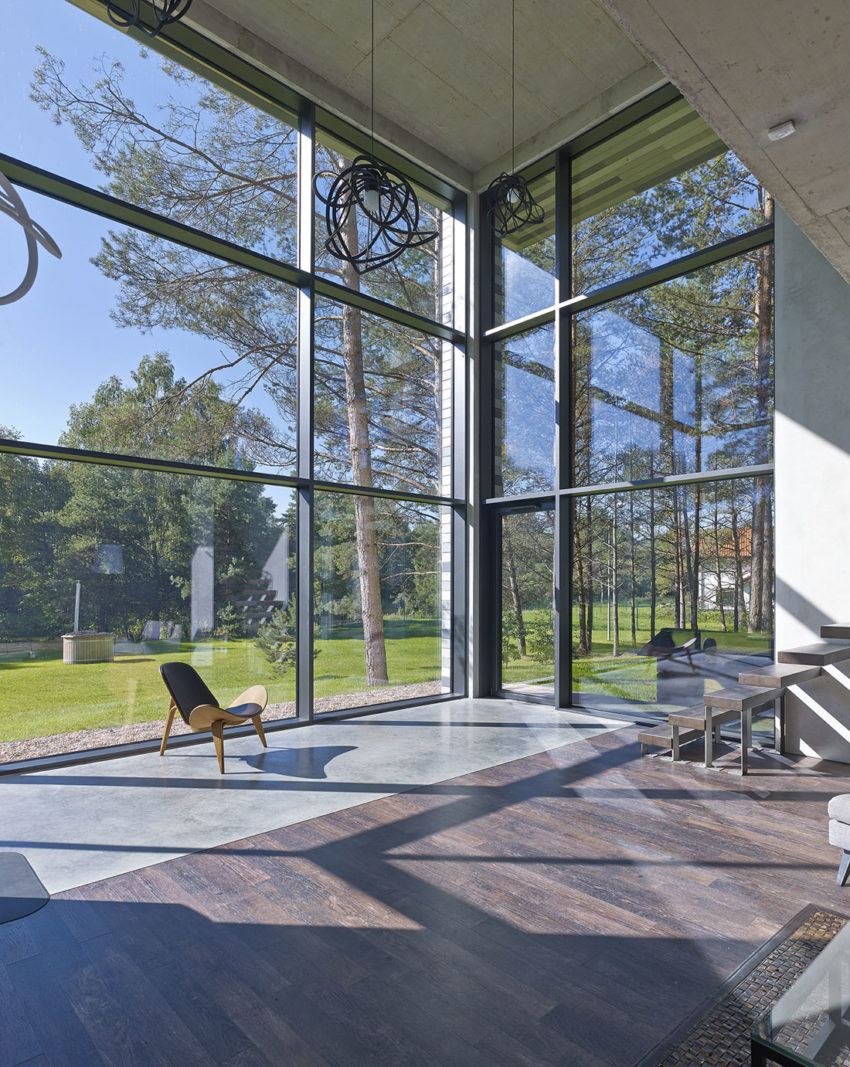 House Villa Near Vilnius by GYZA (9)