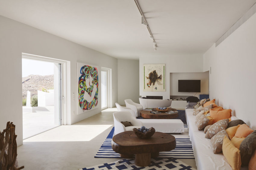 View In Gallery Ktima House By Camilo Rebelo Susana Martins