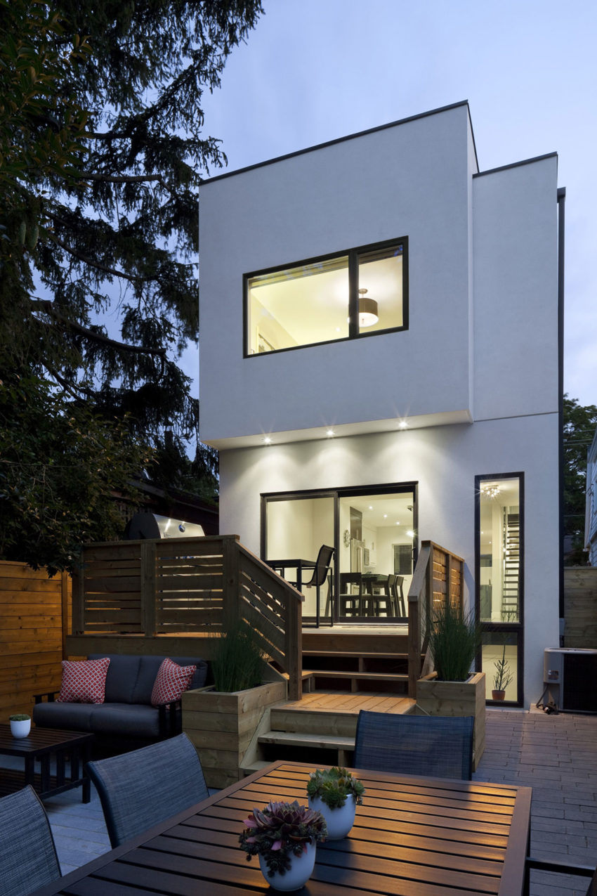 Design Of House Windows Modern Doors And: Linear House By Nano Design Build
