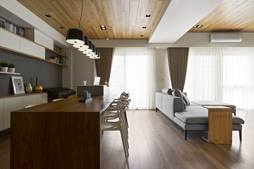 Liu's Warm House by HOYA Design (9)