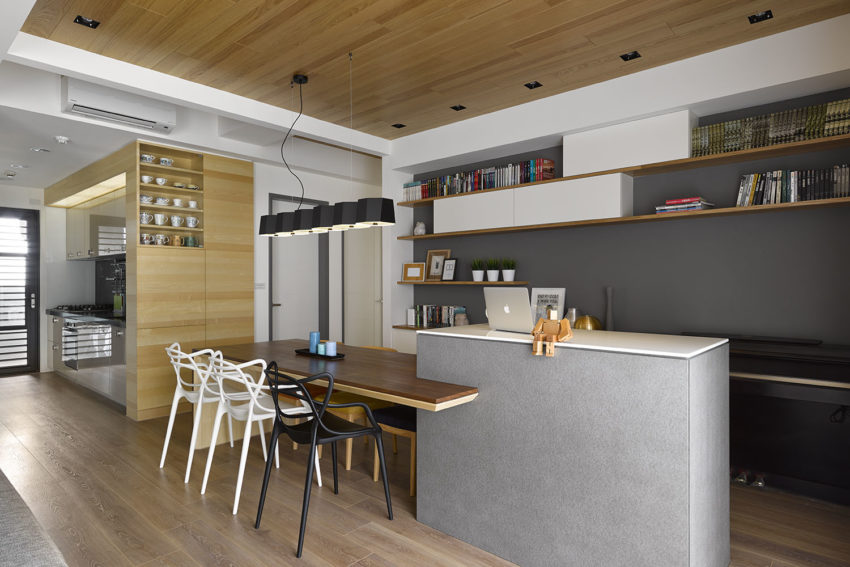 Liu's Warm House by HOYA Design (8)