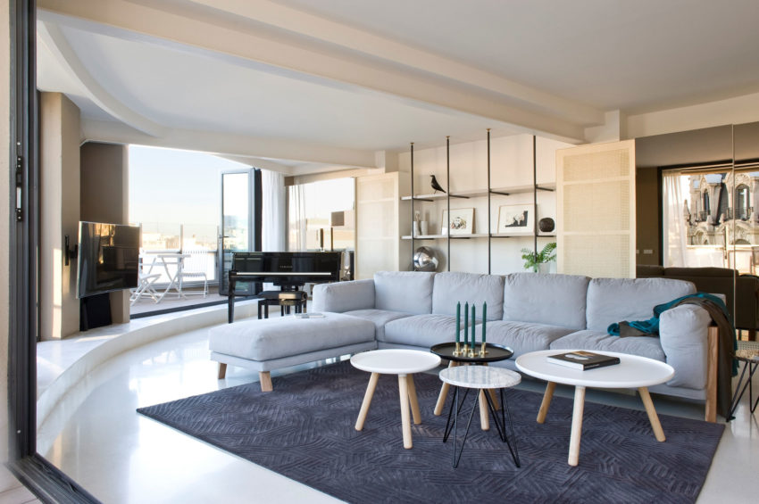 Paseo de Gracia Penthouse by CaSA - Colombo and Serboli (12)