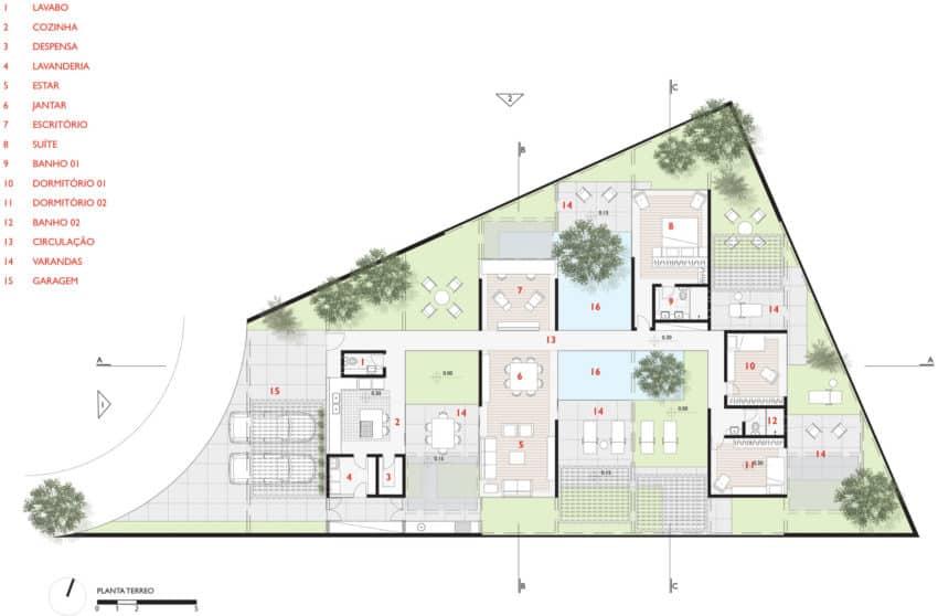 Sliding Pergolas House by FGMF Arquitetos (20)