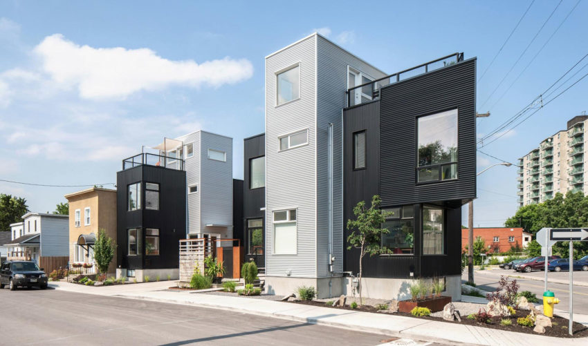 The Hintonburg Six by Colizza Bruni Architecture (2)
