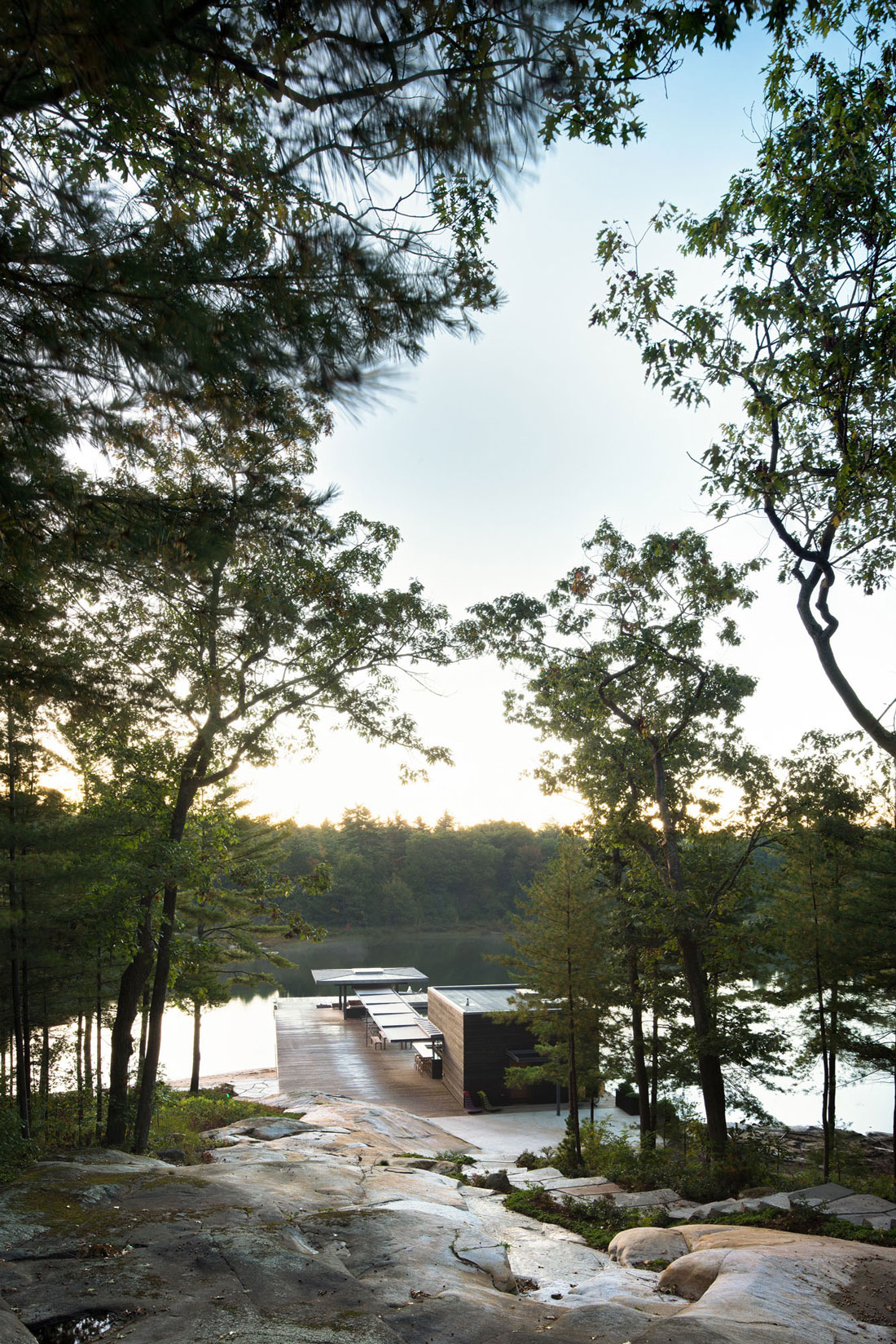 A Modern Boathouse by Weiss Architecture (2)