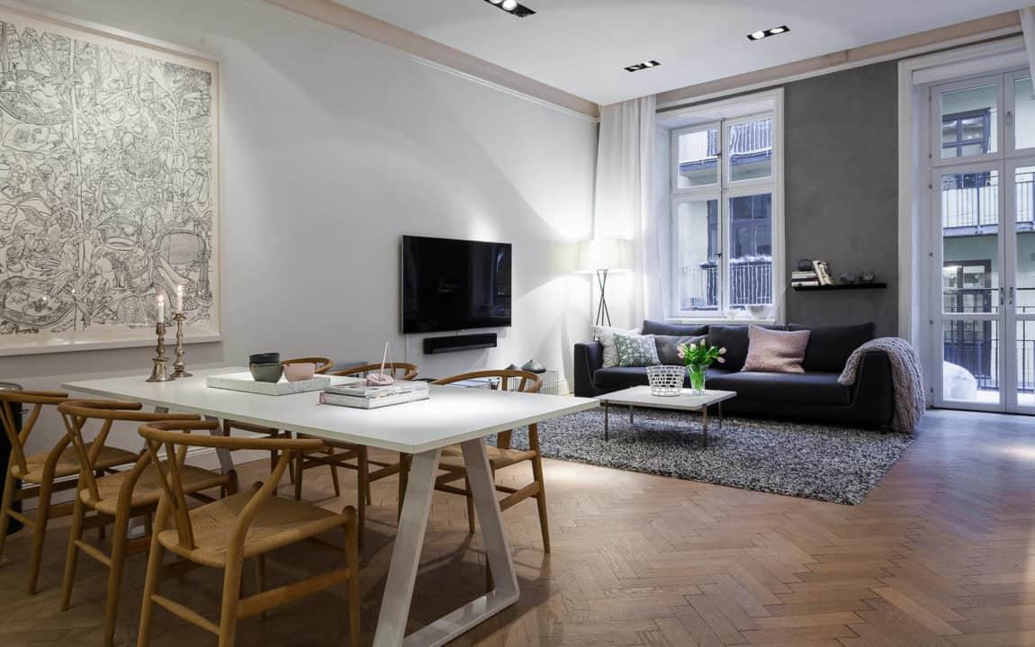Modern Apartment in Östermalm, Stockholm (4)