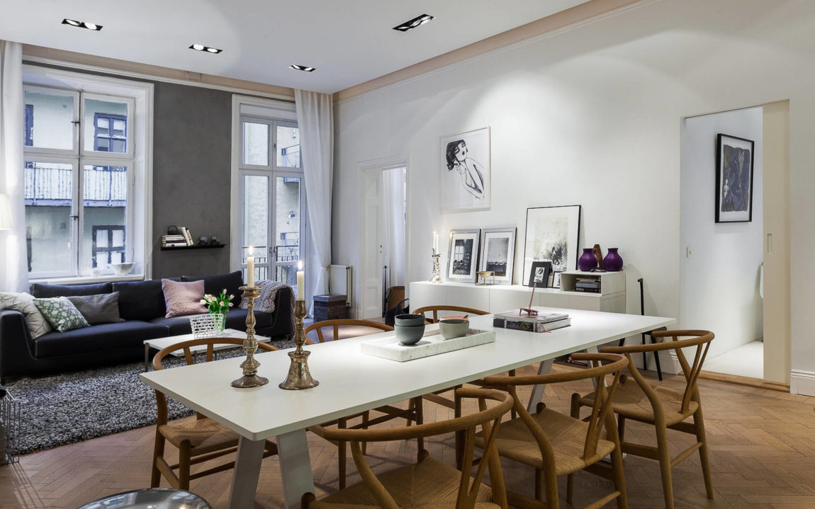 Modern Apartment in Östermalm, Stockholm (5)