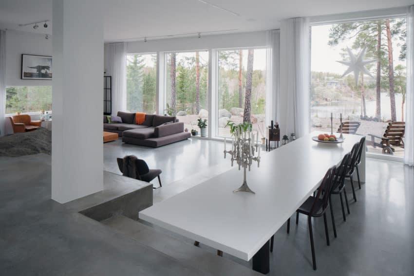 Modern Home in Ingarö, Sweden