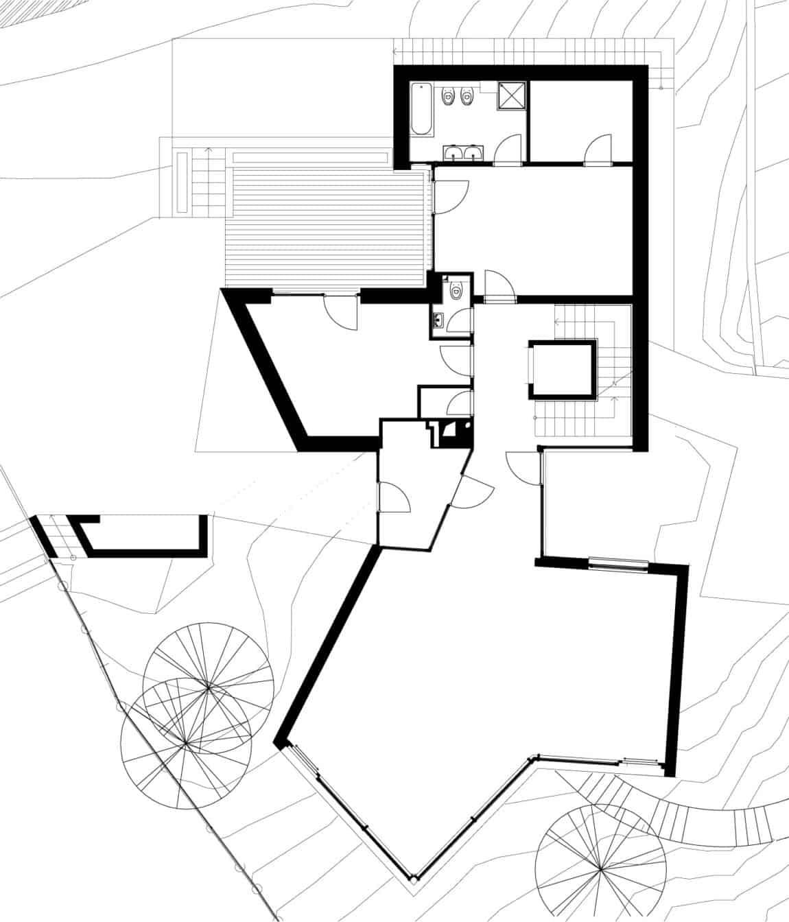 House Between The Trees By Architekti Šebo Lichý (11)