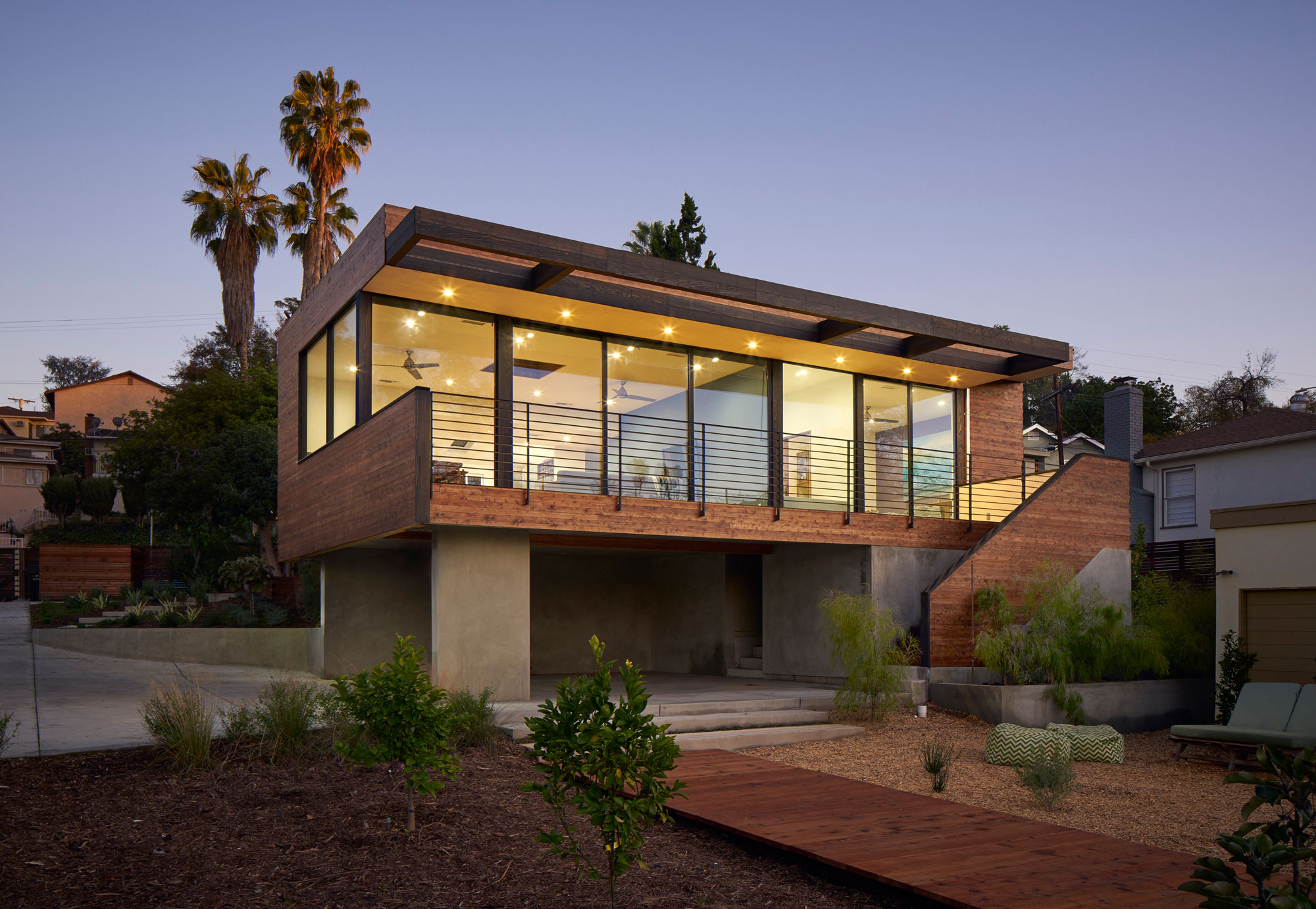 Morris House by Martin Fenlon Architecture
