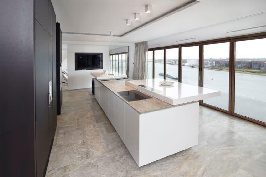 Penthouse Amsterdam by De Brouwer Binnenwerk (6)