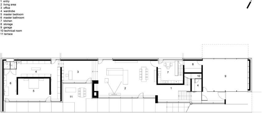 Slight Slope Long House by I/O Architects (17)