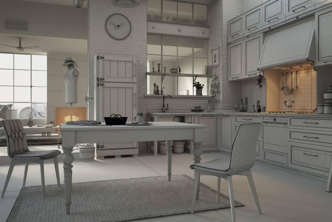 The Venice Loft by 3D Artist Serafien De Rijckedreef (4)