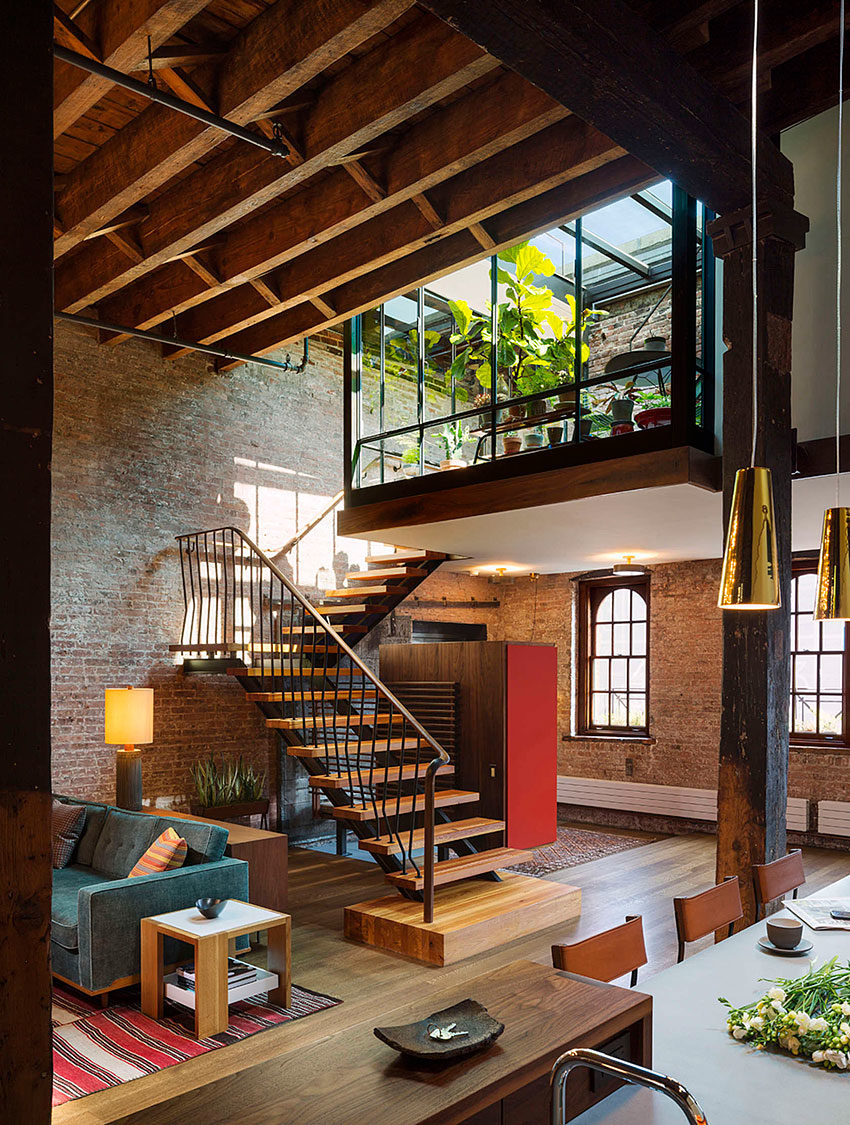 Tribeca Loft by Andrew Franz Architect (6)