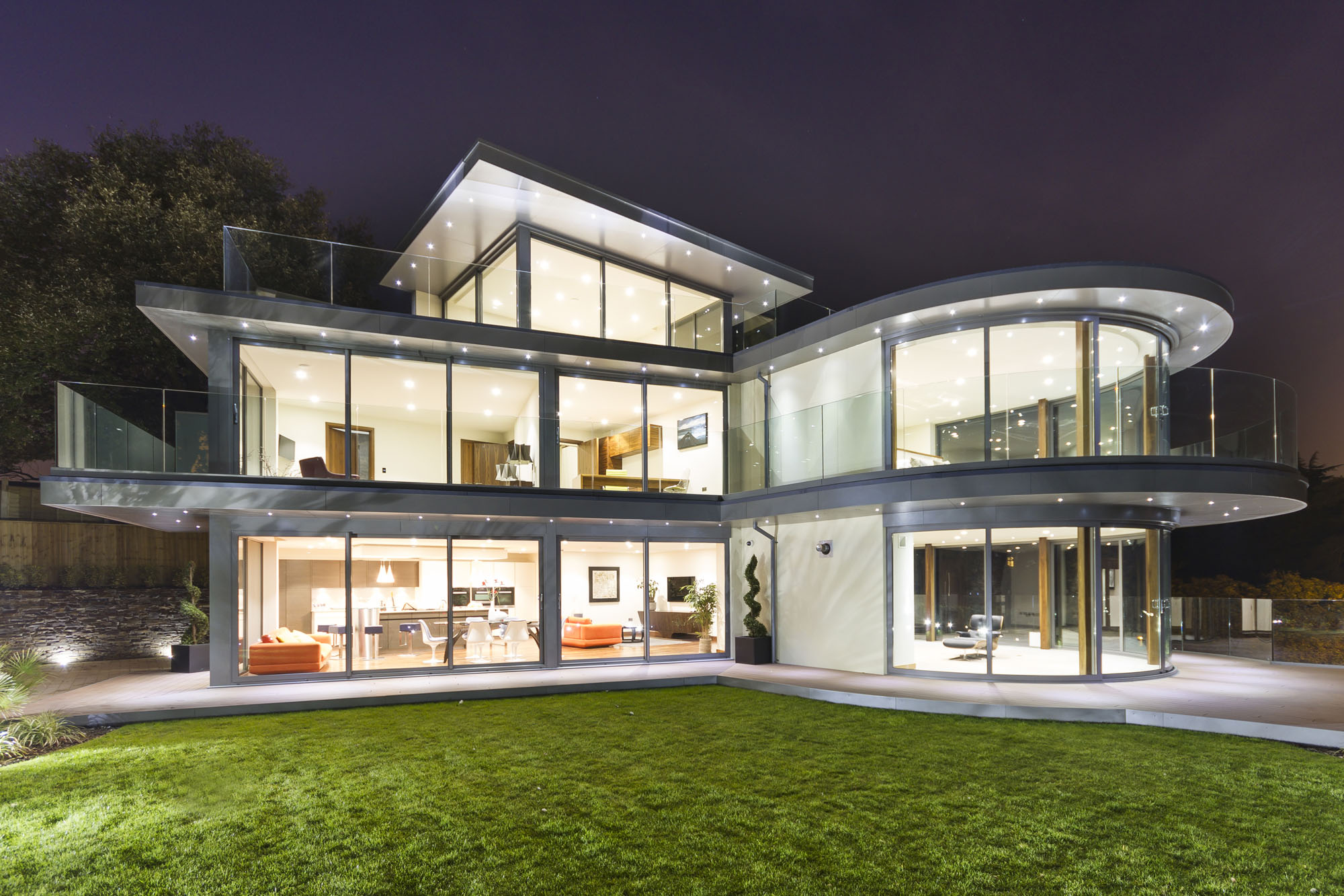Ventura by david james architects associates - Dibujos de casas modernas ...