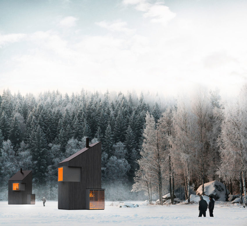 A Modern Winter Shelter by FO4A Architecture (1)