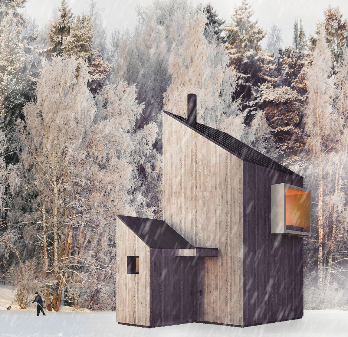 A Modern Winter Shelter by FO4A Architecture (3)