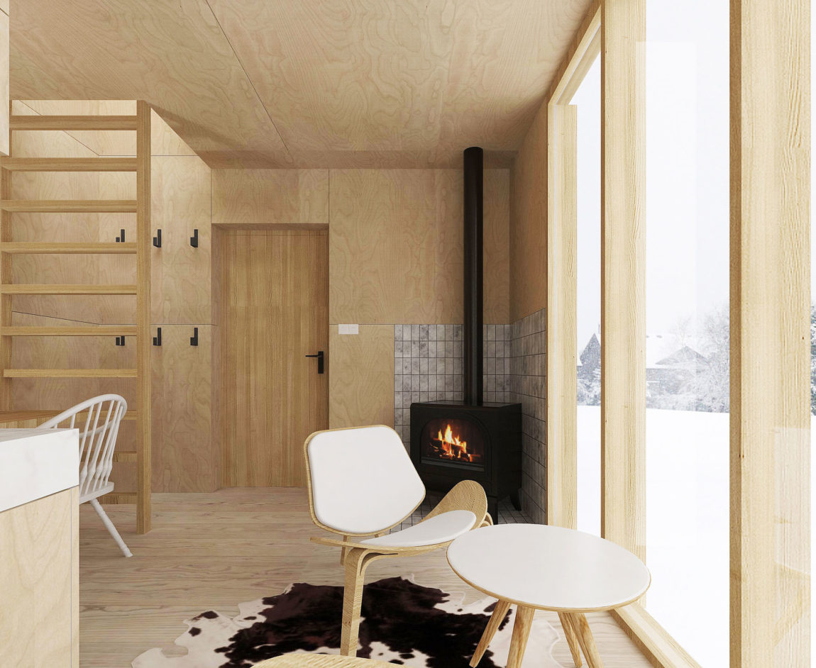 A Modern Winter Shelter by FO4A Architecture (4)