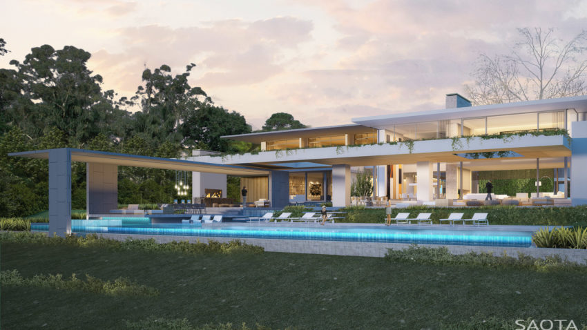 34 yet to be built modern dream homes by saota part 1 for Modern house 8 part 3