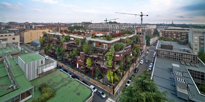 25 Verde, an Amazing Urban Treehouse by Luciano Pia (1)