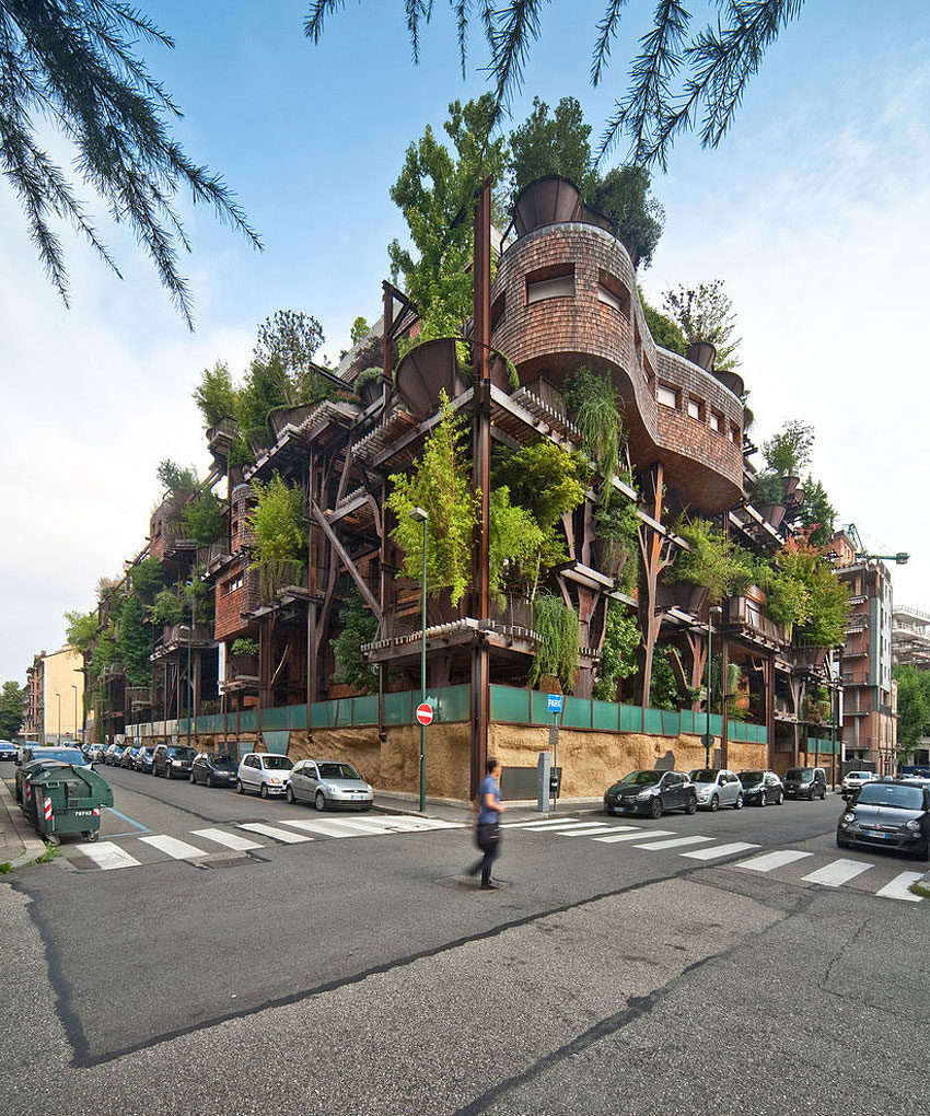 25 Verde, an Amazing Urban Treehouse by Luciano Pia (2)