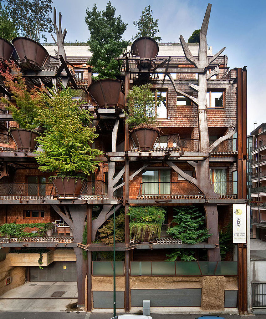 25 Verde, an Amazing Urban Treehouse by Luciano Pia (3)
