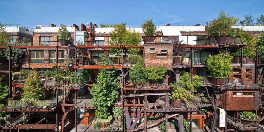 25 Verde, an Amazing Urban Treehouse by Luciano Pia (5)