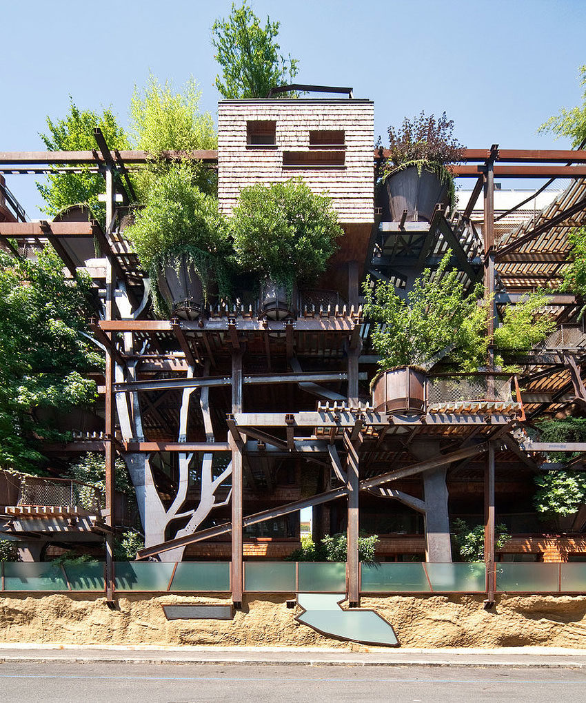 25 Verde, an Amazing Urban Treehouse by Luciano Pia (8)