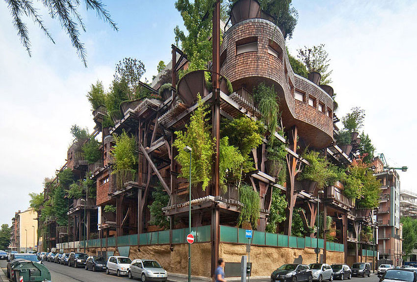 25 Verde, an Amazing Urban Treehouse by Luciano Pia