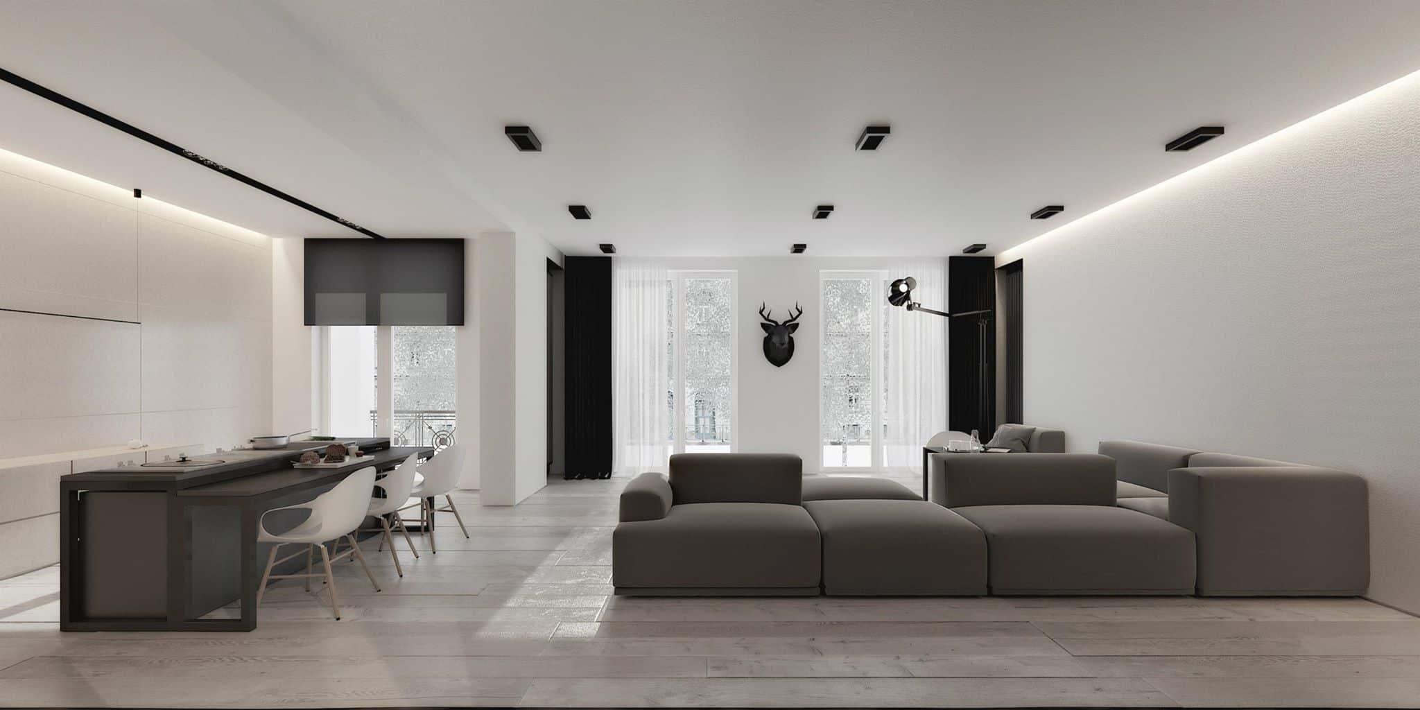 AB1 House by Igor Sirotov Architect