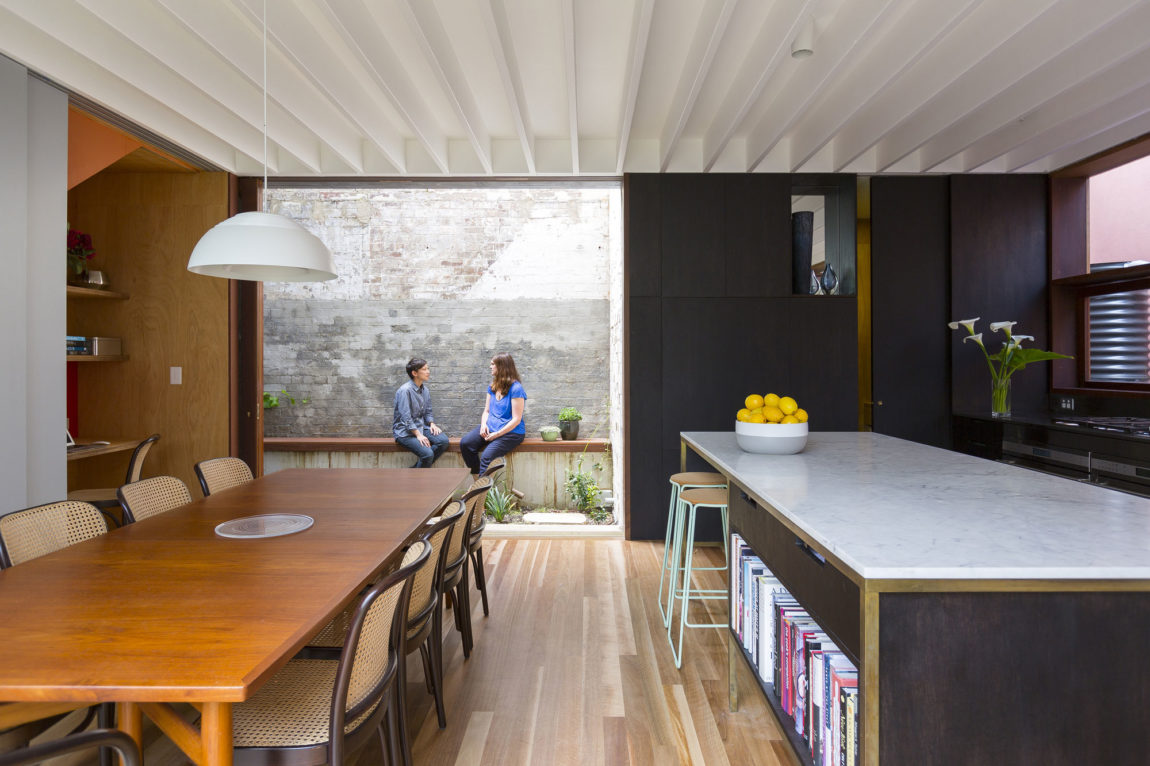 Courtyard House by Aileen Sage Architects (7)