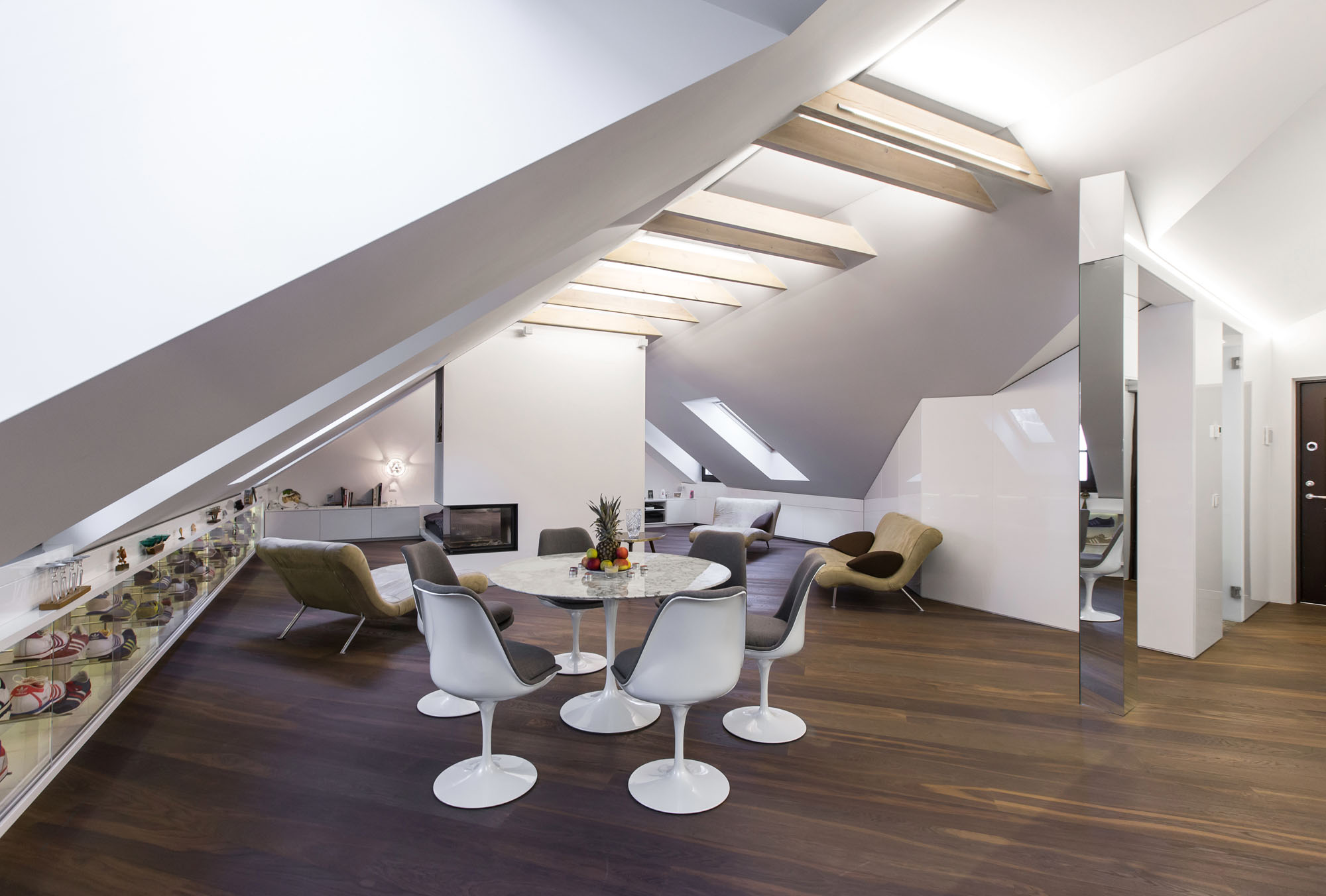 DO Project, a Modern Attic Apartment by YCL Studio