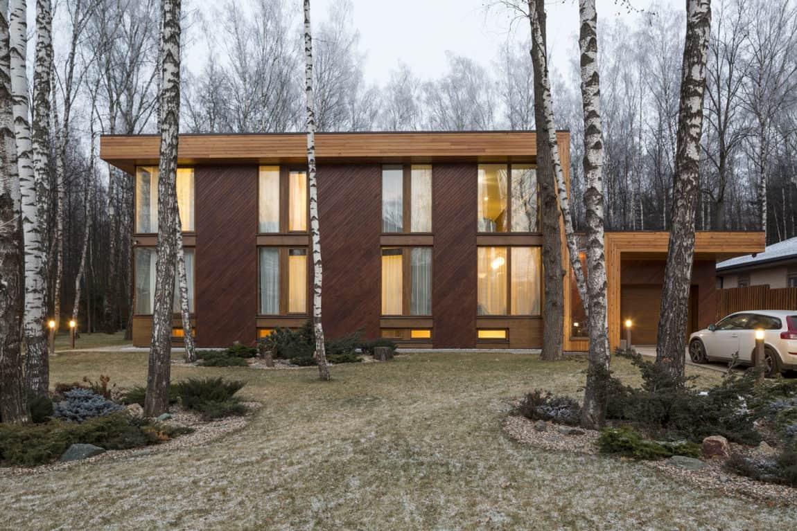 House in Birch Forest by Aleksandr Zhidkov (15)