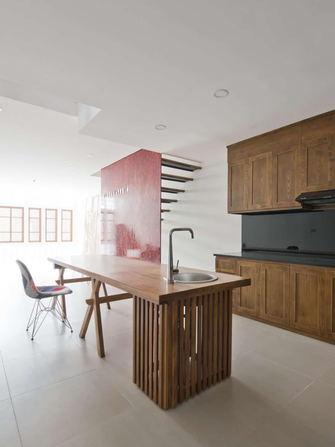 Narrow TT House in Hanoi by Adrei Studio Architecture (10)